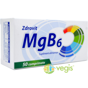 Magneziu+Vit B6 50cpr imagine
