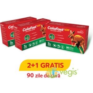 Pachet 2+1 Colafast Colagen Rapid 3X30cps imagine