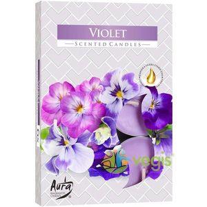 Set Lumanari Tip Pastila Aroma Violete 6 buc. imagine