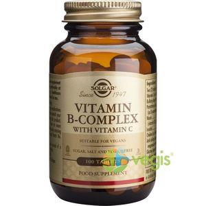 B-Complex Cu Vitamina C 100tb imagine