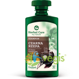 Herbal Care Sampon cu Extract de Ridiche Neagra Pentru Par Cu Tendinta De Cadere 330ml imagine