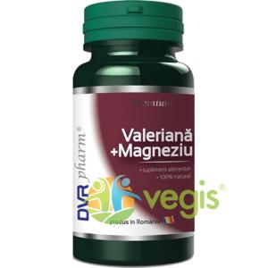 Valeriana + Magneziu 60cps imagine
