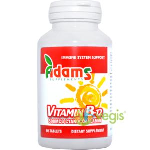 Vitamina B12 500mcg 90tb imagine