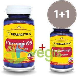 Curcumin 95 C3 Complex 60cps+10cps Pachet 1+1 Promo imagine