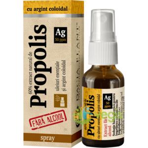 Propolis Cu Argint Coloidal Fara Alcool Spray 20ml imagine