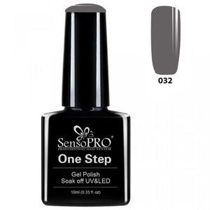 Oja Semipermanenta SensoPRO One Step 10ml - #032 Mysterious Grey imagine