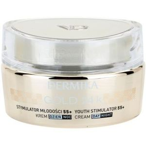 Dermika Gold 24k Total Benefit crema lux de intinerire 55+ imagine