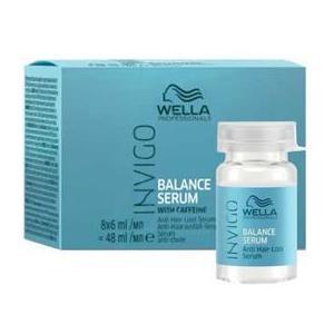 Ser Impotriva Caderii Parului - Wella Professionals Invigo Balance Anti Hair Loss Serum, 8 x 6ml imagine