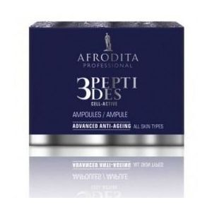 Cosmetica Afrodita - Fiole Anti-Age 3Peptides Cell-Active 5 x 1, 5 ml imagine