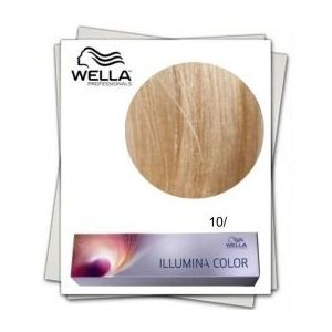 Vopsea Permanenta - Wella Professionals Illumina Color Nuanta 10/ blond aprins imagine