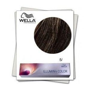 Vopsea Permanenta - Wella Professionals Illumina Color Nuanta 5/ castaniu deschis imagine