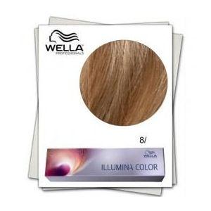 Vopsea Permanenta - Wella Professionals Illumina Color Nuanta 8/ blond deschis imagine