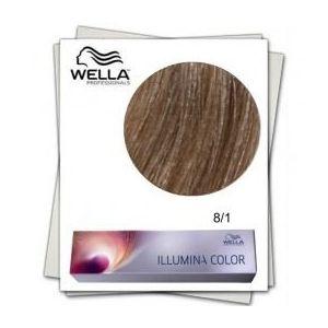 Vopsea Permanenta - Wella Professionals Illumina Color Nuanta 8/1 blond deschis cenusiu imagine