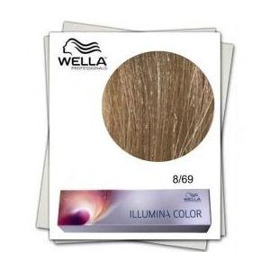 Vopsea Permanenta - Wella Professionals Illumina Color Nuanta 8/69 blond deschis violet perlat imagine