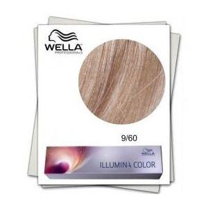 Vopsea Permanenta - Wella Professionals Illumina Color Nuanta 9/60 blond luminos violet natural imagine