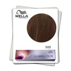 Vopsea Permanenta - Wella Professionals Illumina Color Nuanta 5/02 imagine
