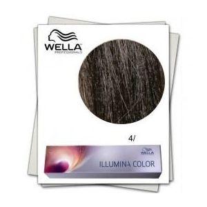 Vopsea Permanenta - Wella Professionals Illumina Color Nuanta 4/ castaniu mediu imagine