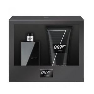 Set James Bond 007 Seven pentru Barbati - Apa de Toaleta 30ml, Gel de Dus 50ml imagine