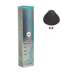 Vopsea Permanenta Absolut Hair Care Colouring Cream, nuanta 4.5 - Mahon Inchis, 100ml imagine