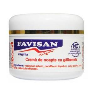 Crema de Noapte cu Galbenele Virginia Favisan, 30ml imagine