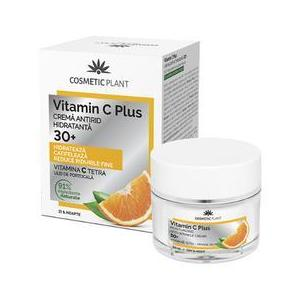 Crema Antirid Hidratanta 30+ Vitamin C Plus Cosmetic Plant, 50ml imagine