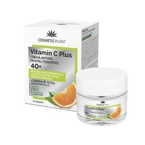 Crema Antirid pentru Fermitate 40+ Vitamin C Plus Cosmetic Plant, 50ml imagine