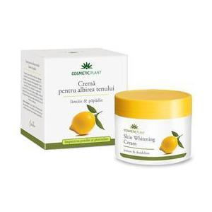Crema pentru Albirea Tenului cu Lamaie si Papadie Cosmetic Plant, 50ml imagine