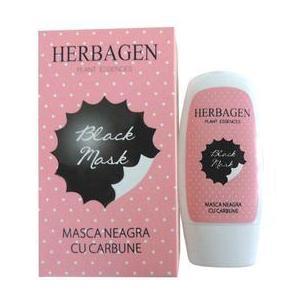 Masca Neagra cu Carbune Herbagen, 50g imagine