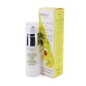 Crema de Noapte Antirid cu Celule Stem Herbagen, 30g imagine