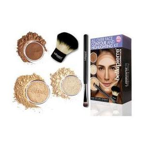 Set truse machiaj All Over Face Highlight & Contour - Medium BellaPierre imagine
