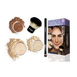 Set truse machiaj - All Over Face Highlight & Contour - Fair BellaPierre imagine