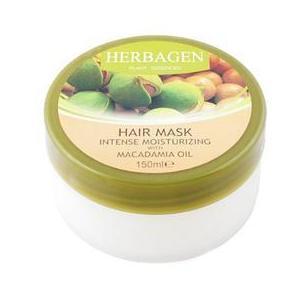 Masca de Par Intens Hidratanta cu Ulei de Macadamia Herbagen, 150ml imagine