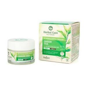 Crema Normalizatoare de Zi/Noapte cu Ceai Verde - Farmona Herbal Care Green Tea Normalising Cream Day/Night, 50ml imagine