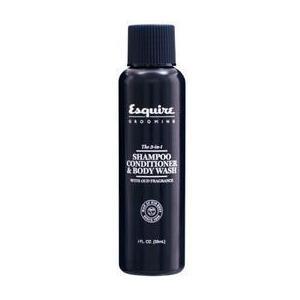 Sampon, Balsam si Gel de Dus 3 in 1 pentru Barbati - CHI Farouk Esquire Grooming 3 in 1 Shampoo, Conditioner & Body Wash, 30ml imagine