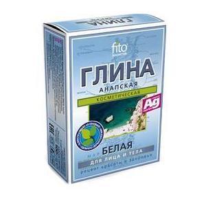 Argila Cosmetica Alba de Anapa cu Efect Mineralizant Fitocosmetic, 100g imagine