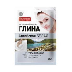 Argila Cosmetica Alba din Altay cu Efect Hidratant Fitocosmetic, 75g imagine