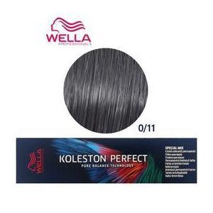 Vopsea Crema Permanenta Mixton - Wella Professionals Koleston Perfect Special Mix, nuanta 0/11 Cenusiu Intens imagine