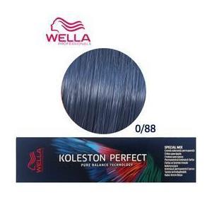 Vopsea Crema Permanenta Mixton - Wella Professionals Koleston Perfect Special Mix, nuanta 0/88 Albastru imagine