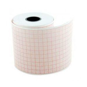Hartie EKG Prima, pentru Cardioline Delta1, Kenz 103/106/107/108, caroiaj rosu, rola 50mm x 30m, 5 buc imagine