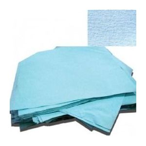 Hartie creponata pentru sterilizare Prima, autoclav/EO, albastra, 120 x 120cm, 125 buc imagine