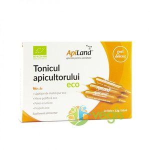 Tonicul Apicultorului Ecologic/Bio - 10 Fiole - Laptisor, miere, propolis si polen imagine