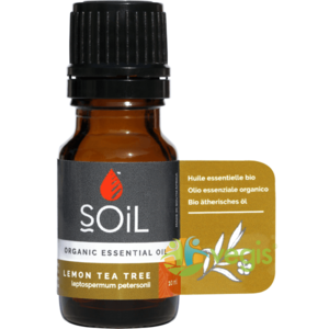 Ulei Esential de Arbore de Ceai Lamaios (Lemon Tea Tree) Ecologic/Bio 10ml imagine