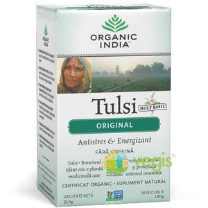 Ceai Tulsi Original Eco/Bio 18pl imagine