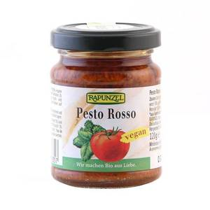 Pesto Rosso, vegan, bio, 125g imagine