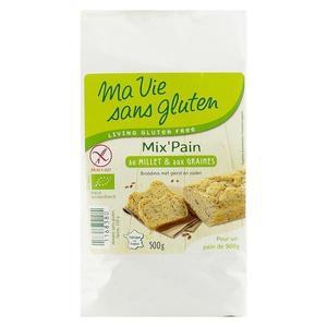 Amestec de paine cu mei fara gluten, bio, 500g imagine