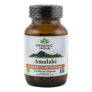 Amalaki Organic India supliment alimentar (500 mg), bio, 60 capsule (30 g) imagine