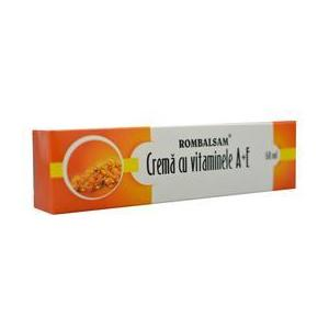 Crema cu Vitaminele A+E Rombalsam Hipocrate, 50 ml imagine