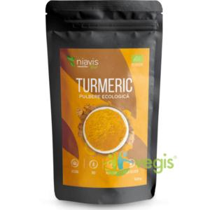 Turmeric (Curcuma) Pulbere Ecologica/Bio 125g imagine