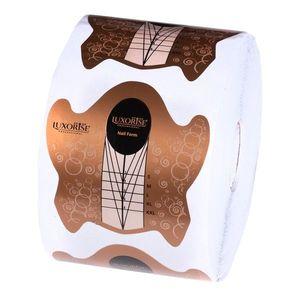 Sabloane Constructie Unghii LUXORISE All Form, 500 buc imagine