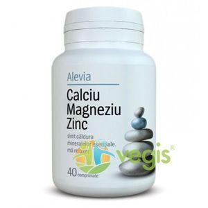 Calciu Magneziu Zinc 40cpr imagine